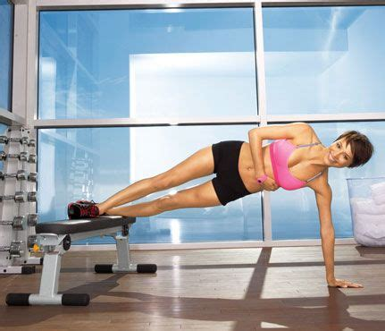 plank with feet on bench slim in the gym 8 ways to use a weight bench