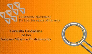 Consulta Ciudadana De Los Salarios Mnimos Profesionales | consulta ciudadana de los salarios m 237 nimos profesionales