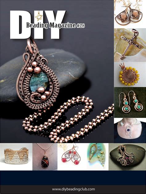 Handcrafted Jewelry Magazine - with wire with diy beading magazine