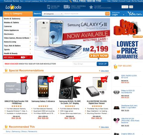 membuat online shop seperti lazada lazada malaysia growing fast as the largest online