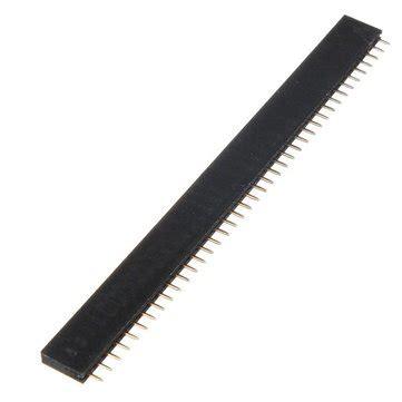 Pin Header 40p Mela 1 pc 40p 40 pin 2 54mm header connector socket for diy arduino us 0 79