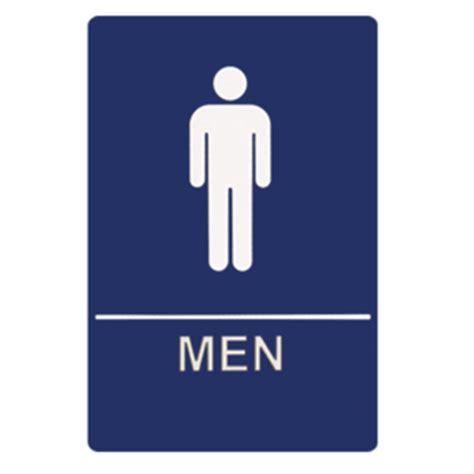 men bathroom sign restroom door signs