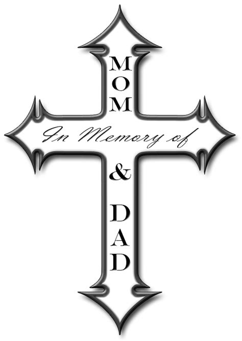 in memory cross tattoo designs memory cross by skoriginals on deviantart