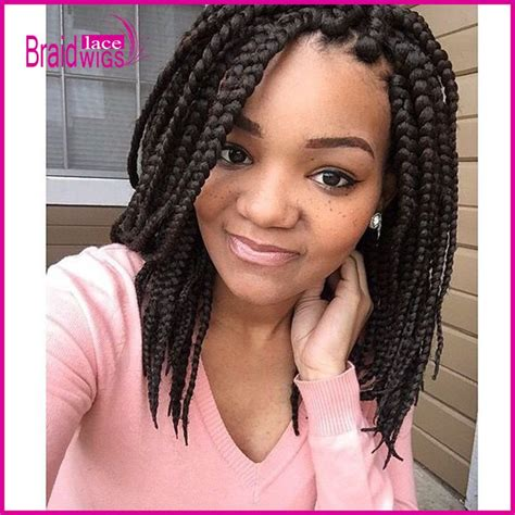 jumbo box braid bob big box braids style google search creative hair