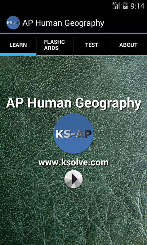 Landscape Analysis Definition Ap Human Geography Ap Human Geography Part1 Android Apps On Play