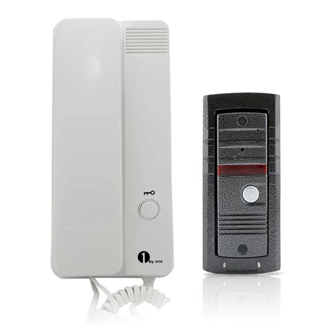 house intercom wholesale 1byone home security 2 wire connection audio door bell phone kit house door