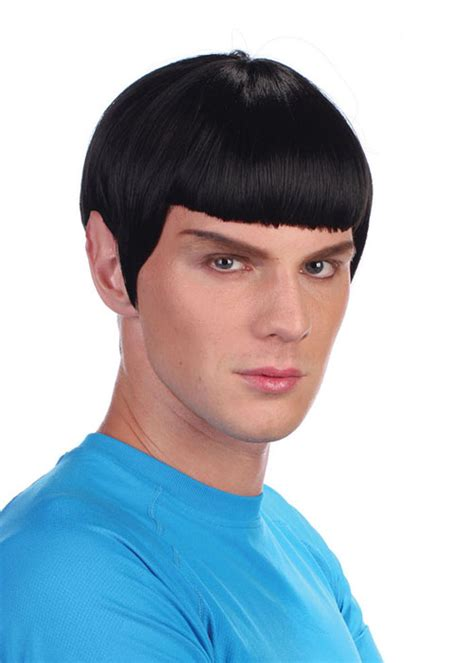 spock hairstyle adult mens spock style space man wig