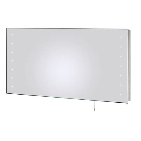 large led bathroom mirrors large modern led illuminated bathroom mirror pull switch