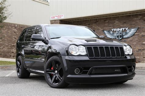 jeep lowered demonized srt8 grand cherokee trinity motorsports