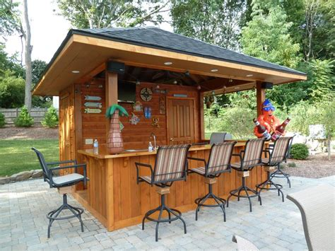 backyard pool bar love this poolside cabana outdoor living pinterest