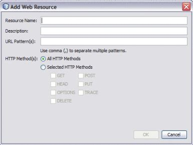 jersey url pattern web xml to update web xml for the worklist manager console for