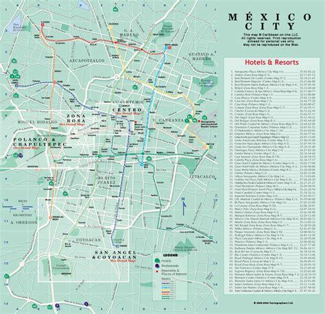 map of mexico city mexico map of mexico city mexico city maps mapsof net