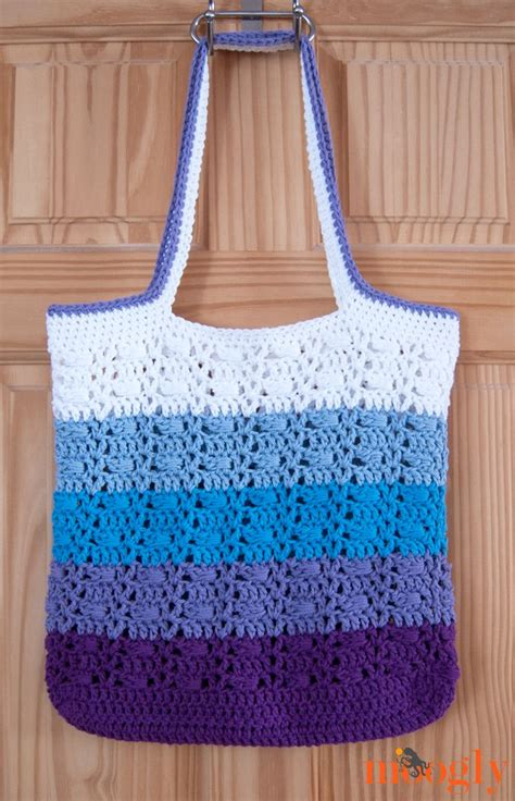 pattern tote bag crochet wrapped ombre tote bag crochet pattern crafts crochet