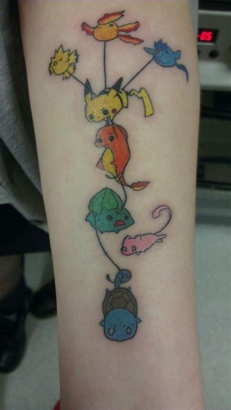 Creative Pokemon Arm Tattoo Tattoomagz Creativity Tattoos Forearm Tattoos On