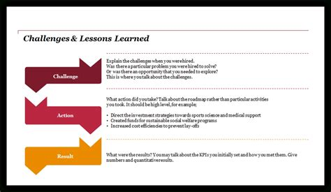 lessons learned powerpoint presentation template