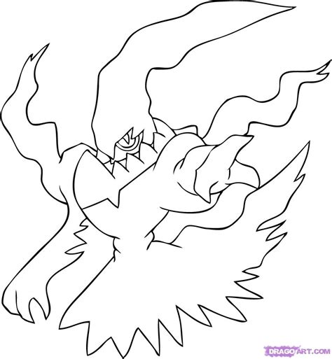 legendary pokemon zapdos coloring pages coloring pages