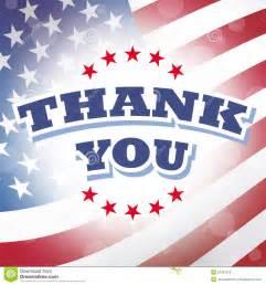 thank you america stock vector image 52421273