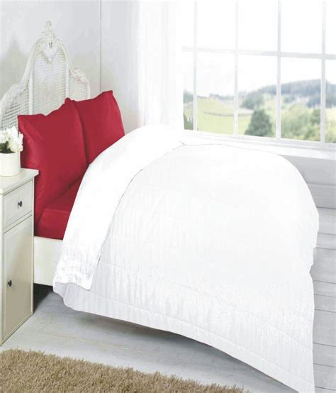 plain white comforter fabutex reversible white plain comforter buy fabutex