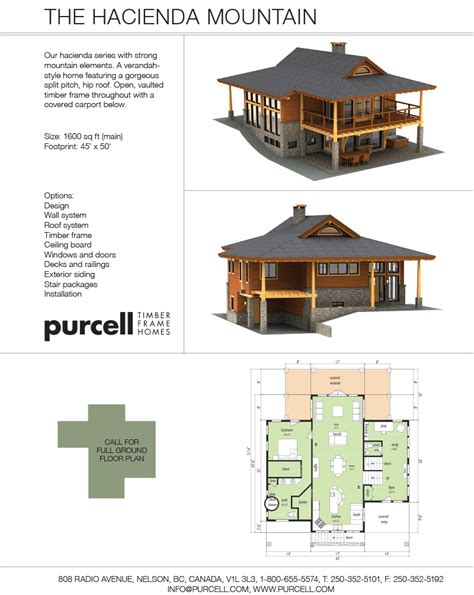 purcell timber frames the hacienda mountain montana
