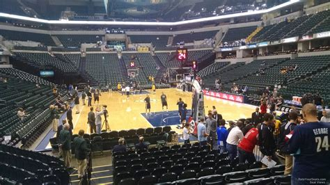 section eleven bankers life fieldhouse section 11 indiana pacers