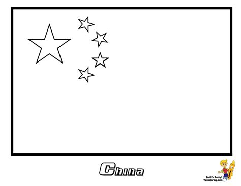 Flag Of China Coloring Page national flag flags and coloring on