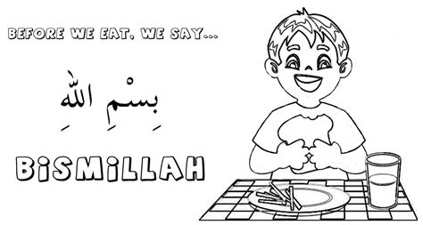 Islamic Coloring Pages Printable My Legal Review Muslim Coloring Pages