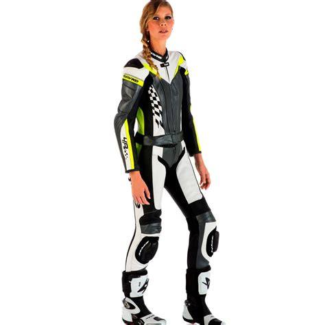 motorcycle leather suit spyke 4race div women motorcycle leather suits 4race rac