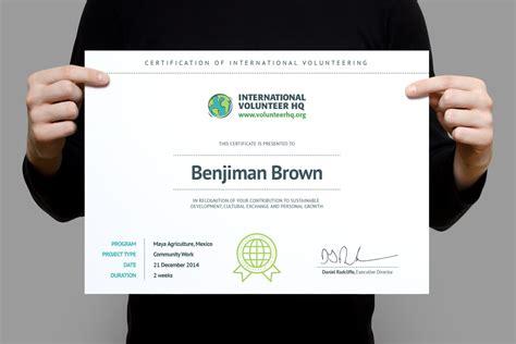 volunteer award certificate template certificate of international volunteering 187 whale shark