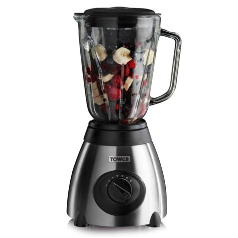 Blender Juicer Quantum tower t12008 500w blender with grinder glass jug