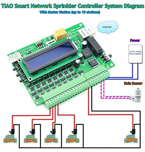 tiao smart network sprinkler controller 16 zones sprinkler import it all