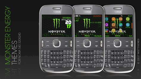 nokia asha 210 themes 320x240 free download monster energy theme s40 320x240 c3 00 x2 01 asha 302 210