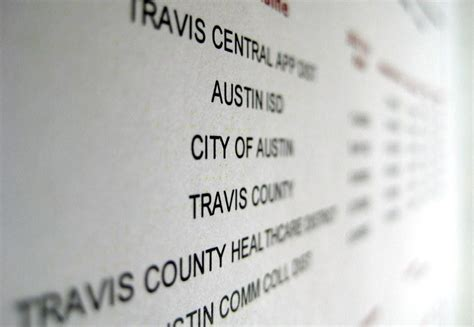 Travis County Property Tax Records Tax Rates Up Assessments For Travis County Homeowners Kut