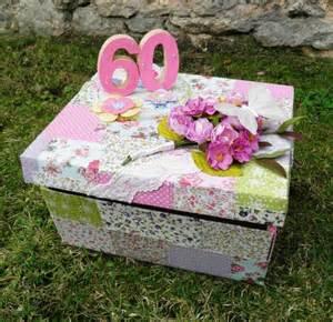 une urne d anniversaire 60 ans femme deco
