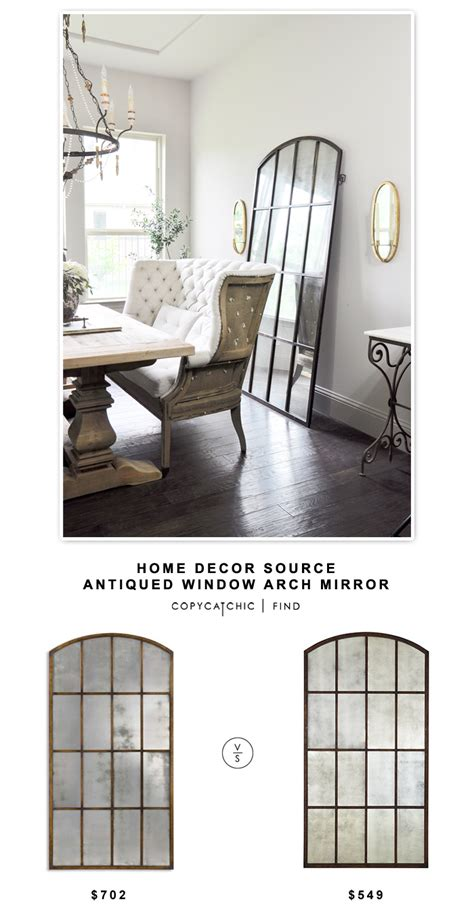 home decor source home decor source antiqued window arch mirror copycatchic