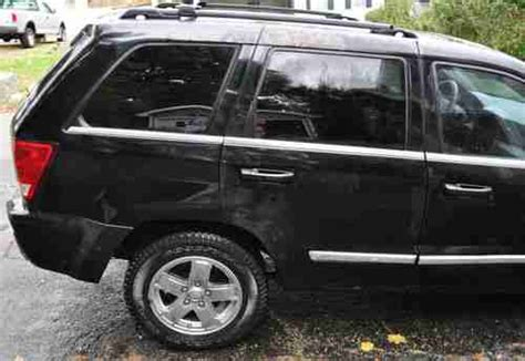 wrecked black jeep grand buy used 2006 jeep grand 4 7l v8 limited 4x4