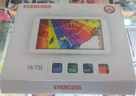 Tablet Evercross tablet 500 ribuan support usb otg evercross