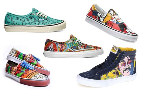 design vans uk 11 of the most awesome vans shoes collaborations eve