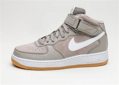 air force one light nike air force 1 mid 07 light taupe white gum light