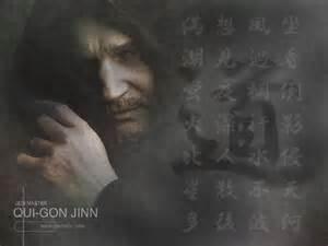 my free wallpapers star wars wallpaper qui gon jinn