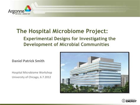 hospital design proposal hospital microbiome project proposal