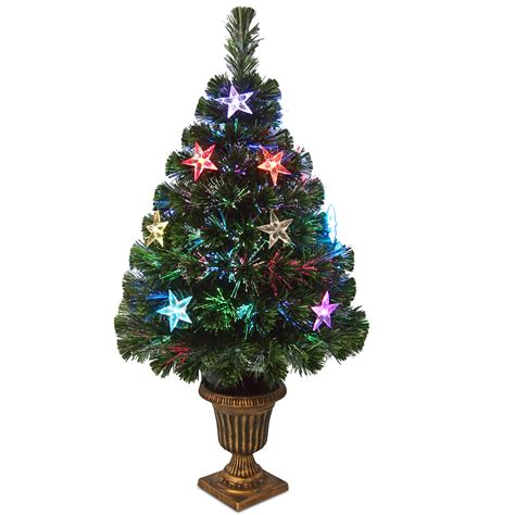 small fibre optic christmas tree shop perth national tree company 36 quot fiber optic evergreen tree with decorations