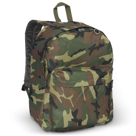 classic camo backpack everest bag