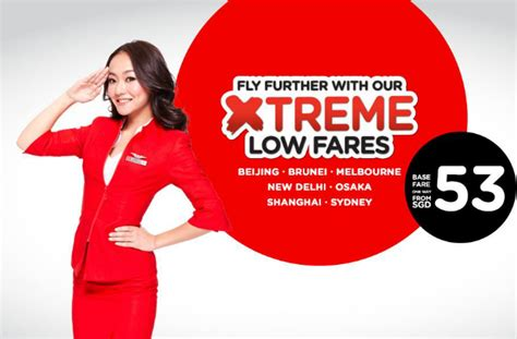 airasia low fare airasia xtreme low fares sale fr s 53 all in 25 jan