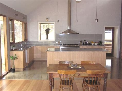 love the mix of floorboards polished concrete deep