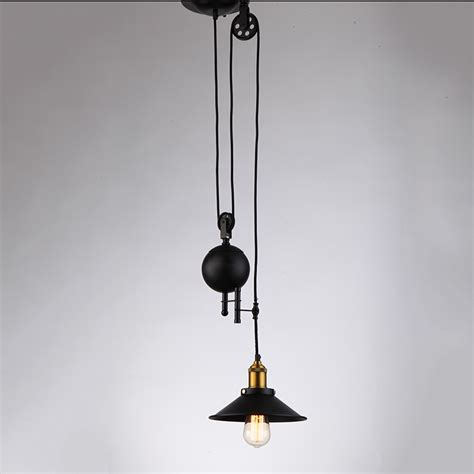 pulley pendant lights pendant light with pulley pendant light