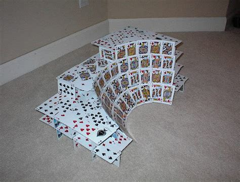 how to make a card house card house pictures house pictures
