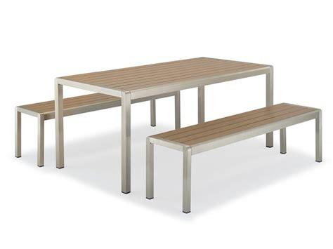 panche e tavoli per esterno tt29 per bar e ristoranti set da giardino per bar e