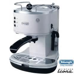 delonghi icona retro espresso cappuccino machine pearl white eco310w uk offers direct