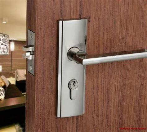 Exterior Door Locks Door Locks Front Interior Minimalist Stainless Steel
