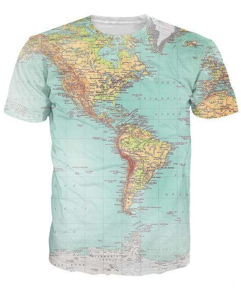 Tshirt World Map world map t shirt threads hipsters retro globe image
